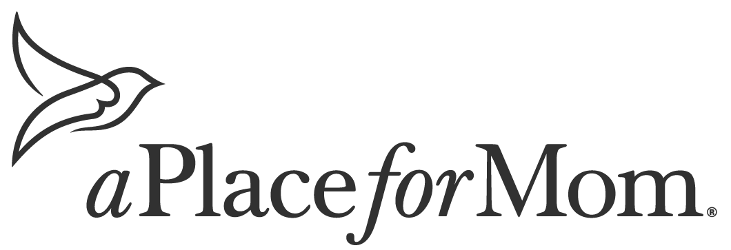 a place for mom logo gray